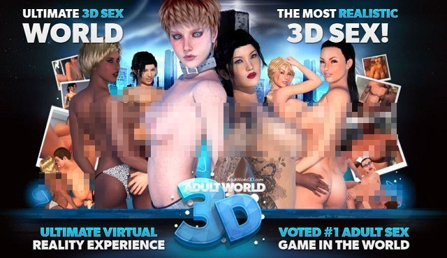 Adult World 3D game review