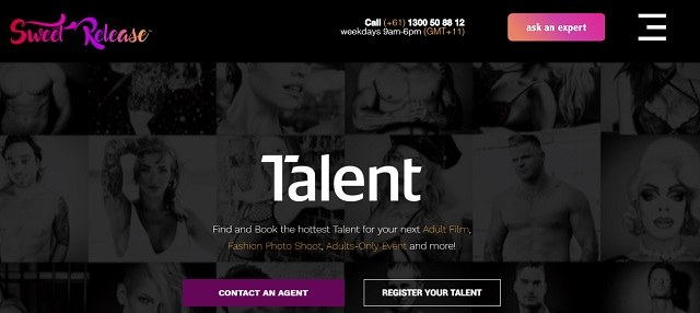find work in the adult industry sweet release talent
