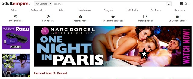 Best adult video on demand services adult empire