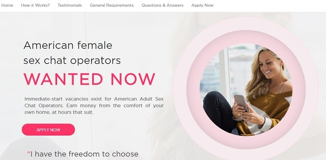 get paid to sext best sites chat operator jobs