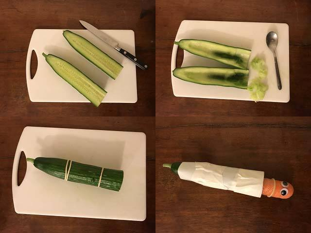 make your own fleshlight cucumber