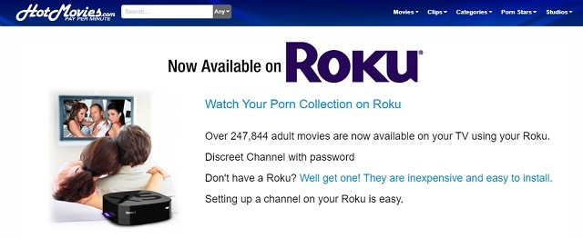 best porn channels on roku hot movies