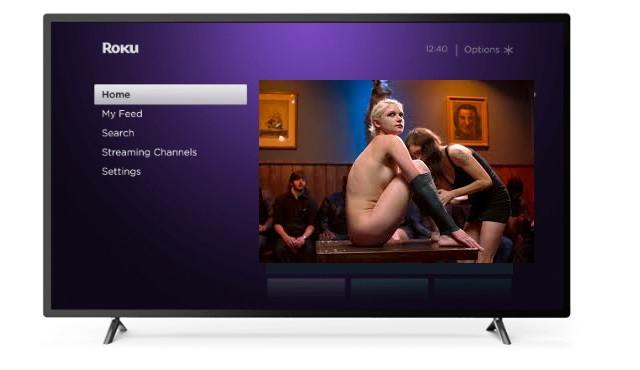 how to add porn to your roku device